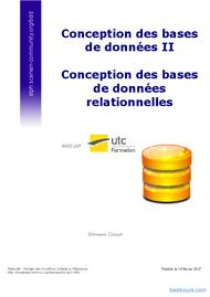 Tutoriel Conception des bases de données relationnelles 1
