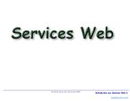Tutoriel Services Web 1