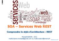 Tutoriel SOA - Services Web REST 1