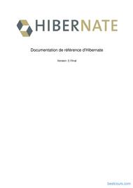 Tutoriel Référence d'Hibernate 1