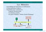Tutoriel Les Mémoires 1
