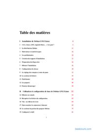 Tutoriel Cours Debian GNU/Linux 2