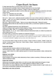 Tutoriel Cours Microsoft Excel 2010 2