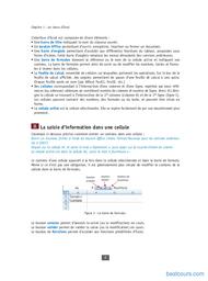 Tutoriel Les bases d'Excel 2