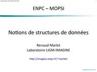 Tutoriel Notions de structures de données 1