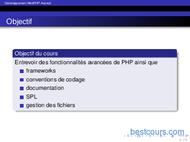 Tutoriel Developpement Web PHP Avancé 2