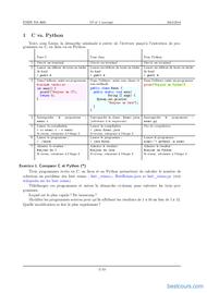 Tutoriel Algorithmes simples (corrigé) 2
