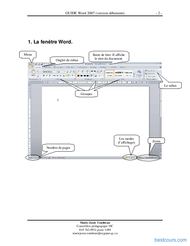 Tutoriel GUIDE Word 2007 (version débutante)  2