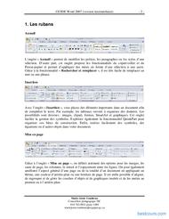Tutoriel GUIDE Word 2007 (version intermédiaire) 2