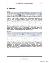 Tutoriel GUIDE Excel 2007 (version intermédiaire) 2