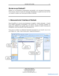 Tutoriel GUIDE Microsoft Outlook 2007 2