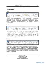 Tutoriel GUIDE Word 2010 (version intermédiaire)  2