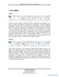 Tutoriel GUIDE Excel 2010 (version intermédiaire) 2