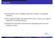 Tutoriel Cours Web - Javascript 2