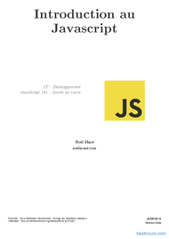 Tutoriel Introduction au Javascript 1
