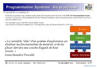 Tutoriel Programmation Système : les processus 1