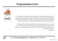 Tutoriel ProgrammationSocket 1