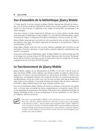 Tutoriel À la découverte de jQuery Mobile 2