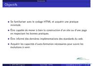 Tutoriel Cours Web - HTML (1° partie) 2