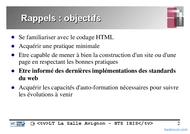 Tutoriel Langage HTML (2° partie) 2