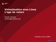 Tutoriel Virtualisation sous Linux RedHat 1