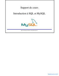 Tutoriel Introduction à SQL et MySQL 1