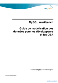 Tutoriel MySQL Workbench 1