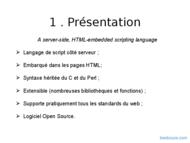 Tutoriel PHP : Les bases 2