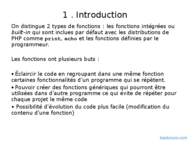 Tutoriel PHP : Fonctions et Formulaire 2