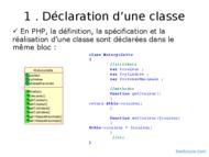 Tutoriel PHP : Programmation objet 2