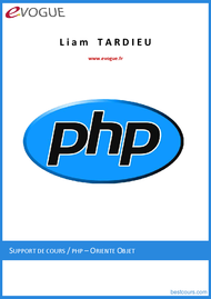 Tutoriel PHP orienté objet 1