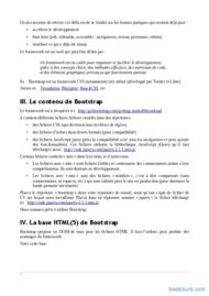 Tutoriel Bootstrap Frameworks CSS/HTML 2