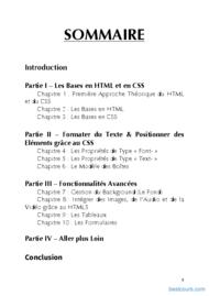 Tutoriel Apprenez à coder en HTML5 et en CSS3 2