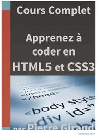 Tutoriel Apprenez à coder en HTML5 et en CSS3 1