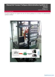 Tutoriel Travaux Pratiques Administration Système en réseau 1
