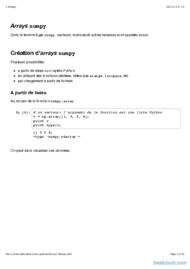 Tutoriel Python: Numpy (visualisation en 2D et 3D) 2