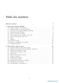 Tutoriel Programmation Web HTML/CSS 2
