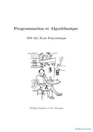 Tutoriel Programmation informatique et Algorithmique 1