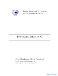 Tutoriel Programmation en C 1