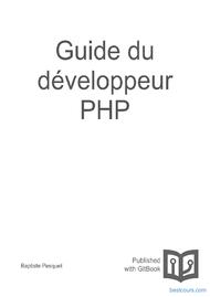 Tutoriel Guide du développeur PHP 1