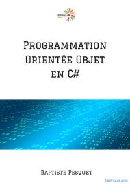 Tutoriel Programmation orientée objet en C# 1