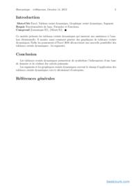Tutoriel Excel – Tableaux croisés dynamiques 2