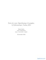 Tutoriel Algorithmique de graphes 1