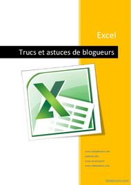 Tutoriel Excel Trucs et astuces de blogueurs 1
