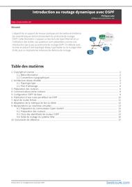 Tutoriel Introduction au routage dynamique avec OSPF 1