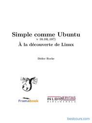 Tutoriel Simple comme Ubuntu - À la découverte de Linux 1