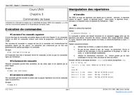 Tutoriel Commandes de base 1