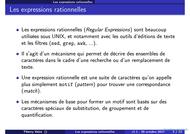 Tutoriel Les expressions rationnelles 2