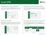 Tutoriel Excel 2016 Guide de démarrage rapide 2