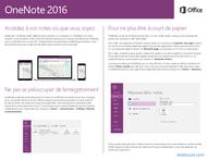 Tutoriel OneNote 2016 Guide de démarrage rapide 2